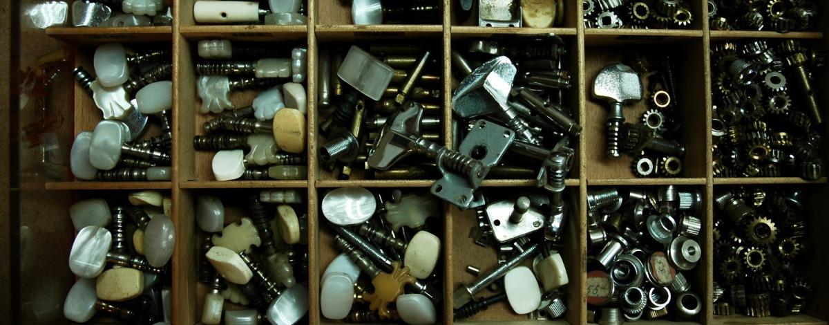 Mechaniken Hamburg Gitarren