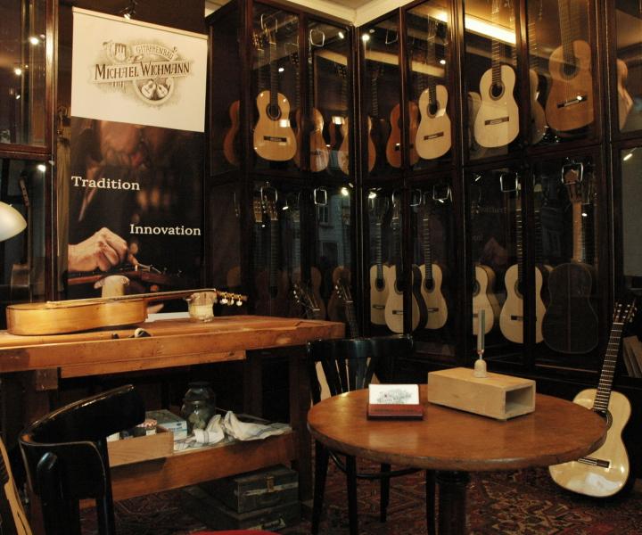 Michael Wichmann Gitarrengeschäft Hamburg